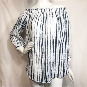 NWT! Polo Off The Shoulder Blouse Size Small